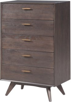 Loft Wooden 5 Drawer Chest Product Image