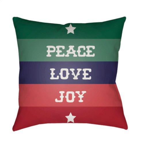 """Peace Love Joy HDY-079 18"""" x 18"""""""