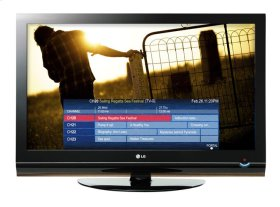 """32"""" class (31.5"""" diagonal) Pro:Centric LCD Widescreen HDTV with Applications Platform"""