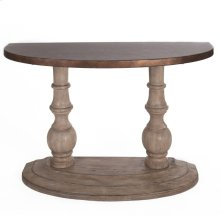 Half Moon Sofa Table Top