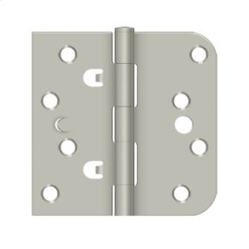 "4""x 4""x 5/8""x SQ Hinge - Brushed Nickel"