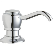 "Elkay 2"" x 4-1/2"" x 1-3/4"" Soap / Lotion Dispenser, Chrome (CR)"