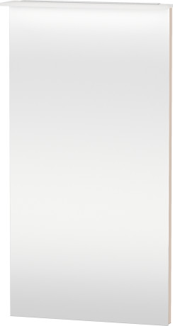 Mirror With Lighting, Apricot Pearl High Gloss Lacquer