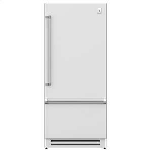 "Hestan 36"" Bottom Mount, Bottom Compressor Refrigerator - Krb Series - Steeletto"