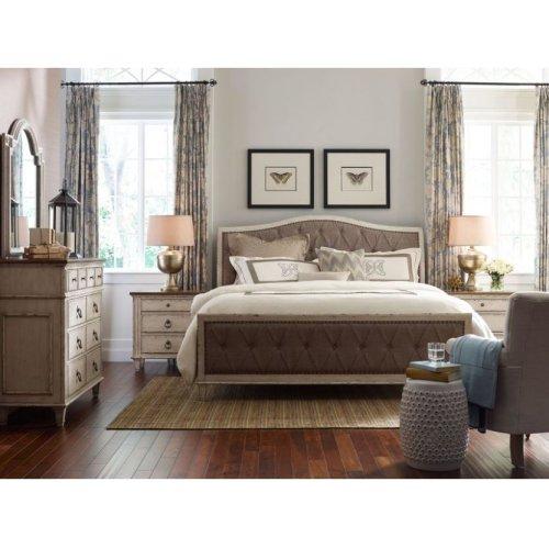 Upholstered King Bed Complete