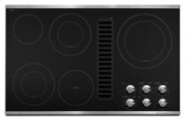"36"" Downdraft Electric Cooktop with 5 Elements - Stainless Steel"
