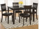 Dark Prairie 5-pack- Table and 4 Chairs Product Image