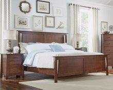 Queen Panel Bed