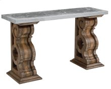 Shop Floor Double Pedestal Console Table