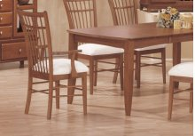 """DINING CHAIR - 2PCS / AMARETTO """"CAGE"""" STYLE"""