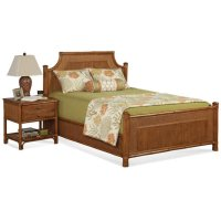 Summer Retreat Arched Bedroom Set Product Image