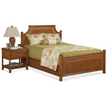 Summer Retreat Arched Bedroom Set