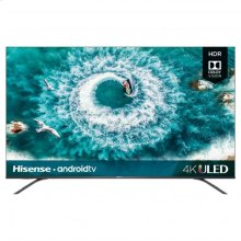 "55"" class H8 series - Hisense 2019 Model 55"" class H8F (54.6"" diag.) 4K ULED Smart Android TV"