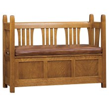 Loose Cushion Gus Storage Settle