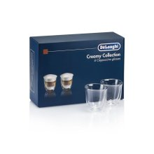 Creamy Collection (6) Glass Gift Set - Cappuccino Double Wall Thermal Glasses DLSC301