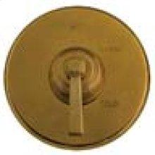 Aged Brass Diverter/Flow Control Handle