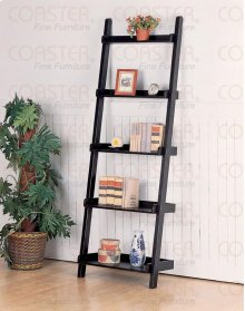"SHELF/ LARGE BOOK, BLACK 26""x14""x77"""