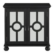Accent Chest with Mirror Door-Antique Black, 3A Product Image