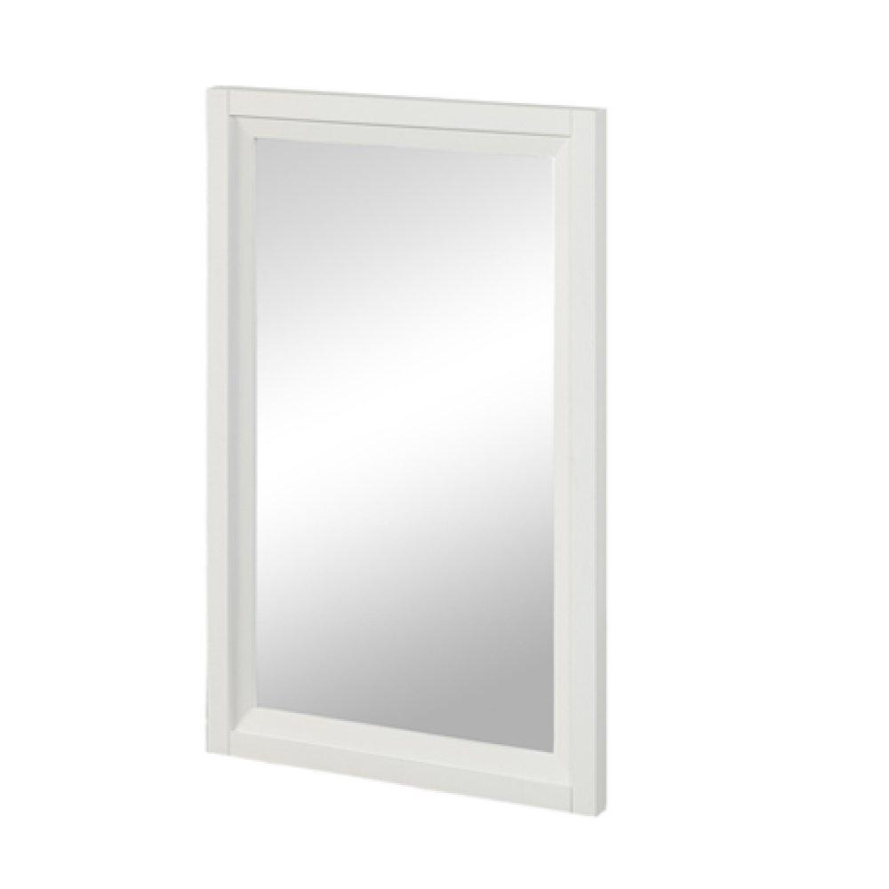 """Studio One 19"""" Mirror - Glossy White"""