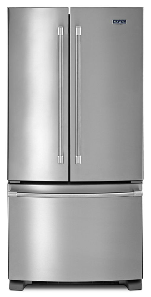 MAYTAG 33 Inch Wide French Door Refrigerator   22 Cu. Ft.