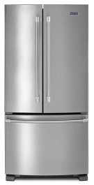 22 cu. ft. 3-Door French Door Refrigerator with Strongbox Door Hinges Product Image