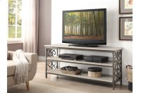 Sofa Table / TV Stand with Faux Marble Top Product Image