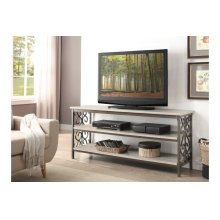 Sofa Table / TV Stand with Faux Marble Top