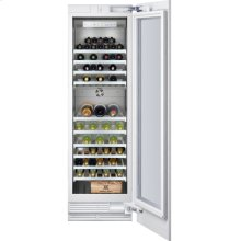 "Vario wine climate cabinet 400 series RW 464 760 fully integrated, with glass door Niche width 24"" (61 cm), Niche height 84"" (213.4 cm)"