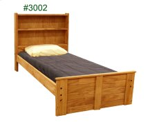 Twin Tall Bookcase Mates Bed