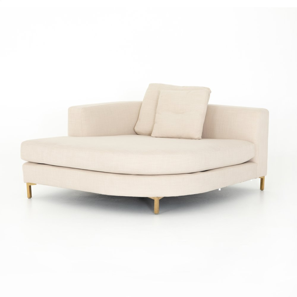 Laf Rounded Chaise Piece Configuration Greer Sectional Pieces