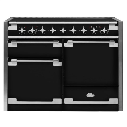 Matte Black AGA Elise Induction Range