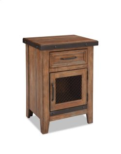 Taos One Drawer Nightstand Product Image