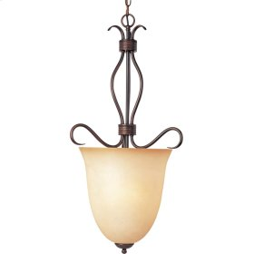 Basix 2-Light Entry Foyer Pendant