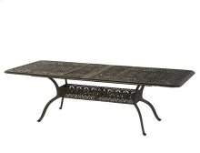 "42""x76"" Rectangular Extension Table (extended To 100"" With Leafs Installed)"