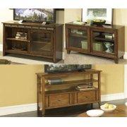 Birch with Walnut TV Console Product Image