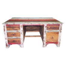 Multi Louvered Executive Desk