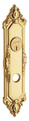 Non-Lacquered Brass Westminster Entrance Trim