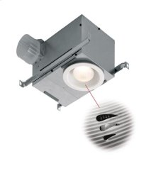 70 CFM Humidity Sensing Recessed Fluorescent Fan/Light, with White trim, ENERGY STAR® certified