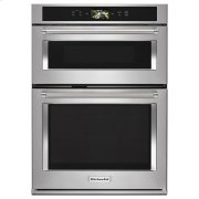 "KitchenAid® Smart Oven+ 30"" Combination Oven with Powered Attachments - Stainless Steel Product Image"