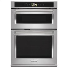 "KitchenAid® Smart Oven+ 30"" Combination Oven with Powered Attachments - Stainless Steel"