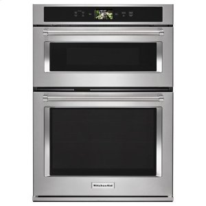 "KitchenaidKitchenAid® Smart Oven+ 30"" Combination Oven with Powered Attachments - Stainless Steel"