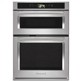 """KitchenAid(R) Smart Oven+ 30"""" Combination Oven with Powered Attachments - Stainless Steel"""