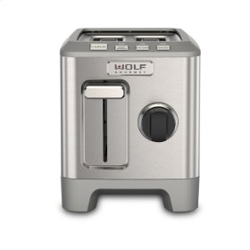 Two Slice Toaster - Black Knob