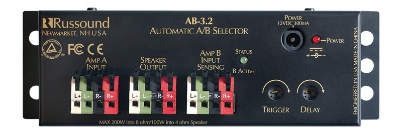 AB-3.2 Automatic Speaker Selector