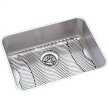 "Elkay Lustertone Classic Stainless Steel, 23-1/2"" x 18-1/4"" x 7-1/2"", Single Bowl Undermount Sink Kit"