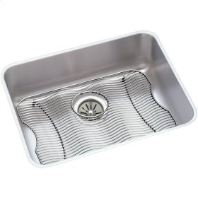 "Elkay Lustertone Classic Stainless Steel, 23-1/2"" x 18-1/4"" x 7-1/2"", Single Bowl Undermount Sink Kit"