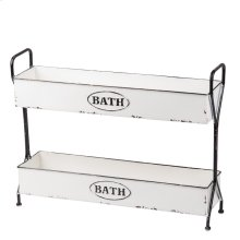Enamel Bath Caddy
