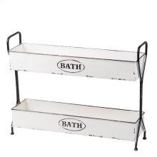Enamel Bath Caddy