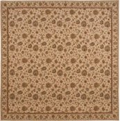 HARD TO FIND SIZES SULTANA SU01 IVORY SQUARE RUG 11' x 11'