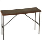 Leather Top Console Table Product Image